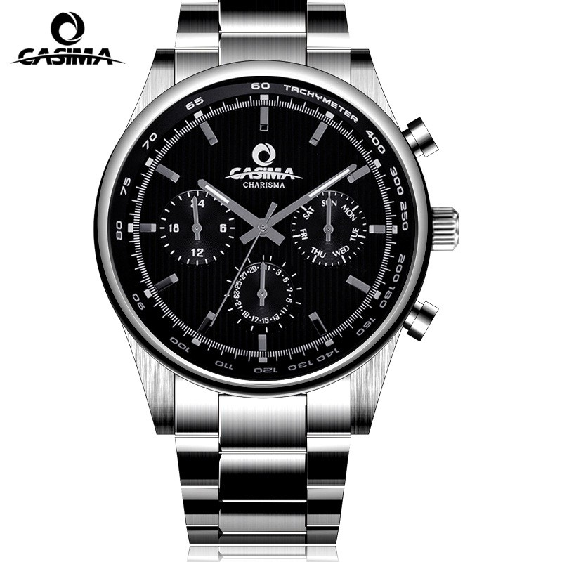 CASIMA luxury brand watches men's fashion business men's quartz watch waterproof 100M analog sports watch relogio masculino