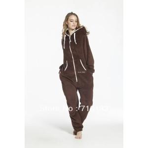 one piece jumpsuit all-in-one suit unisex adult onesies fleece jump in suit romper playsuit  teddy fleece