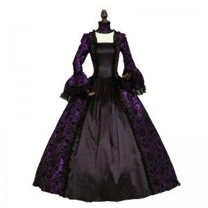 Victorian Wedding Party Georgian Period Dress Ball Gown Reenactment Party Dress