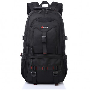 New Waterproof  Shoulder Bag Men Women Camouflage Black Color High-Capacity Computer Bag Travel Laptop Backpack with Free Gift