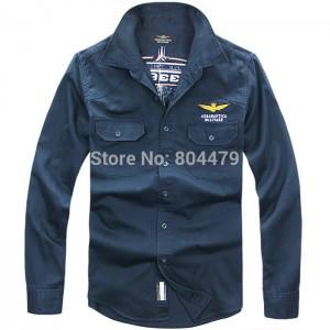 Aeronautica Militare,A.M shirts,italy brand casual shirt,man autumn 2014 long sleeve shirts man free shipping