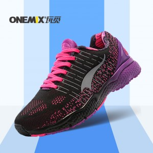 ONEMIX 2016 Women Running Shoes Light Sneakers Breathable Mesh Ladys Sport Sneakers Comfortable Outdoor Walking Shoes size 36-40