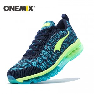 ONEMIX 2017 Mens Sport Sneakers Breathable Men's Running Shoes with Cushion Outdoor Boy Athletic Sneakers free shipping