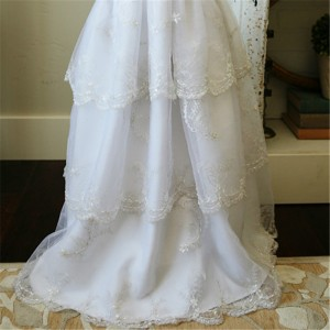 white ball gowns for girl with jacket princess party dresses wedding kids baptism dress for girls tutu bridesmaid wear