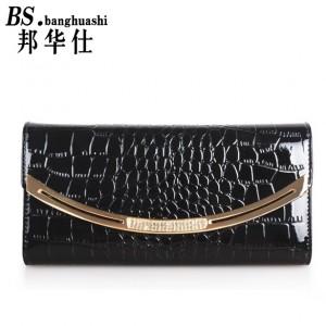 Women 's wallet Women' s Section of the Korean Women 's Money Wallet Leather Clutch Large - Capacity Hand bag