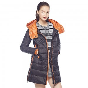 Candy-Colors Women Down Coats Jackets Long Woman Down Parka With A Hat Fashion Female Winter Coat Girl Winter Collection YG675