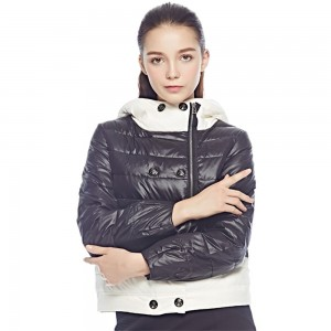 Women Down Coat Jacket Short Length Woman Down Parka With A Hat Fashion Female Winter Coat Girl Winter Collection YH618
