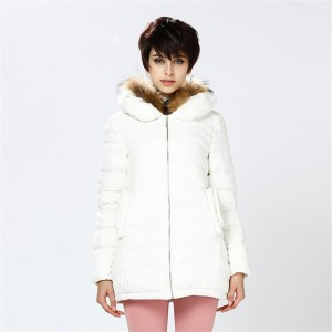 Women Down Coats Jackets Long Woman Down Parka With Double-Layers Fur Collar Fashion Winter Coat Girl Winter Collection YH760