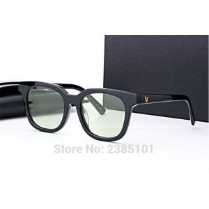 Korea bigbang brand Vintage Square Sunglasses Gentle maya Glasses pink lens Acetate Material oculos de grau men eyewear frames