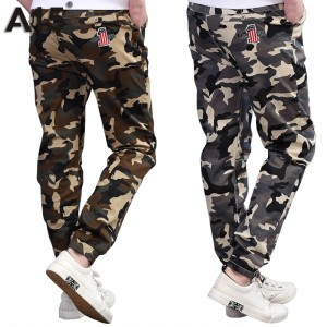 A15 Teenage Boy Clothing Kids Camouflage Trousers Kids Pants Boys Trousers Camo Pants Boys Military Pants Big Size 8 10 12 14 16
