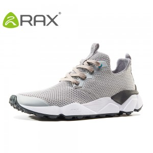 Rax 2017  Men Lightweight Trail Running Shoes Women Breathable Lightweight Outdoor Sports Shoes Men Sneakers