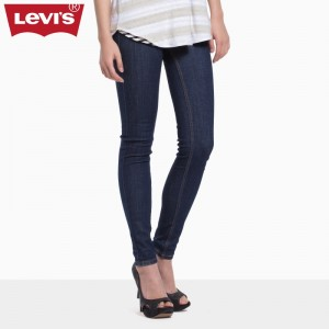 Levi's Tight-Titting Feet Of Raw Leather Washed Jeans Women Skinny  Pencil Jeans Pants