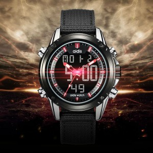 Waterproof Digital Watch Sport Military  Men's Casual Quartz Dual Display Wristwatches Alarm Clock Reloj Hombre Electronic Watch