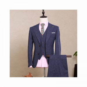 (jacket+pants+vest) New fashion male singer men suit spring autumn casual slim fit prom groom business party wedding suit