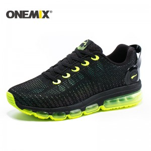 Onemix 2017 running shoes men sneakers lightweight colorful reflective mesh vamp for outdoor sports jogging walking shoe for men