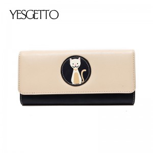 Long Women Wallets Luxury Famous Brands Designer Female Bag Ladies Cute Women's Purse Walet Leather Carteras Card Holder Cuzdan